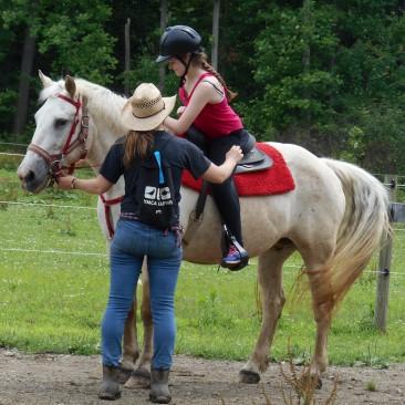 equestrian riding staff