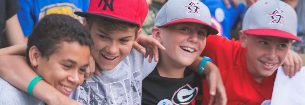summer camp boys friends