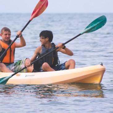 lake erie kayaking