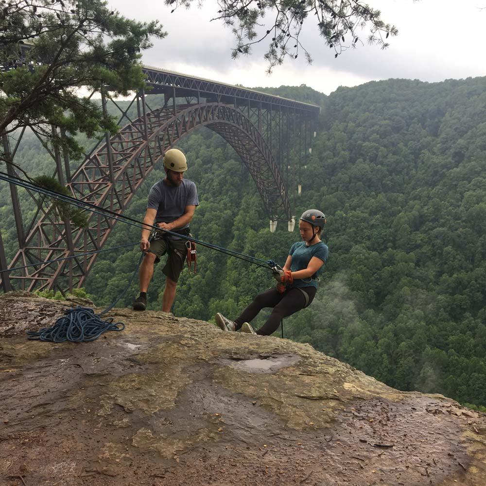 rapellinig teen adventure trip